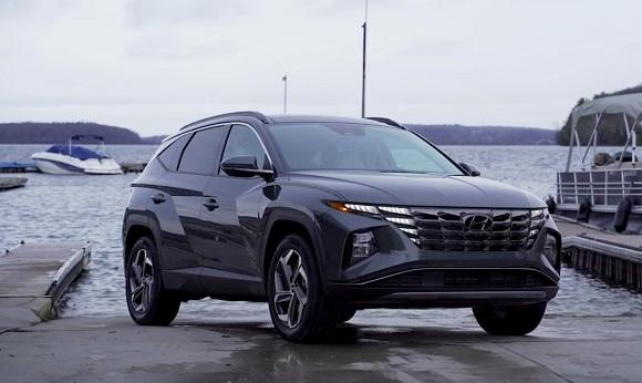 Hyundai Tucson 2021-2022.