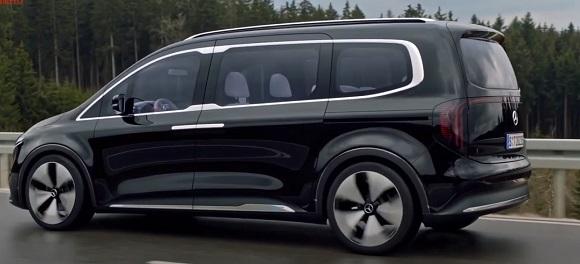 Mercedes EQT Concept 2022.