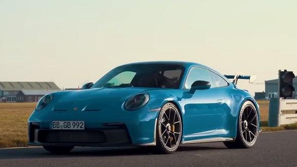 New 2022 Porsche 911 GT3.