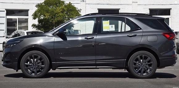 Chevrolet Equinox 2021.