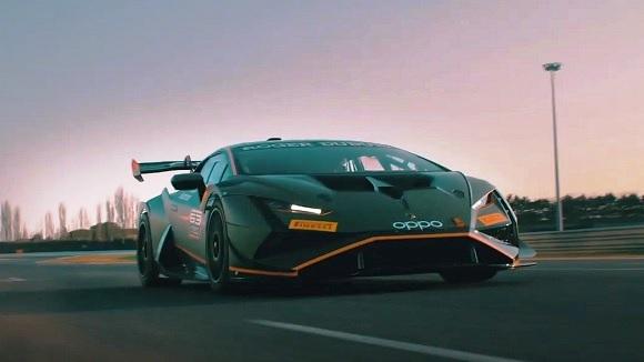 Lamborghini Huracan Super Trofeo 2022.