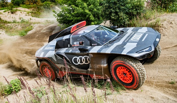 Audi RS Q e-tron for Dakar.