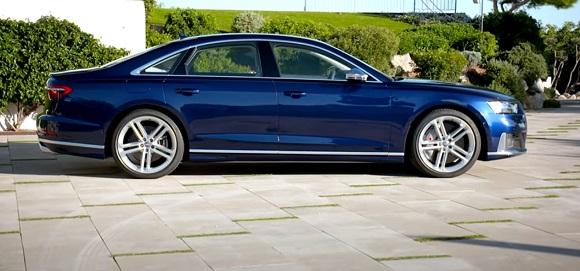 New Audi S8 2021.