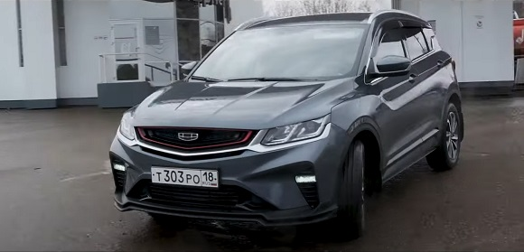 Geely Coolray 2021.