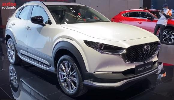 Mazda CX 30 EV 2021.