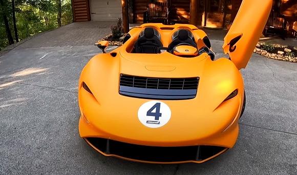 McLaren Elva 2021.