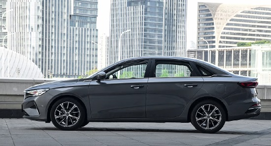 Geely Emgrand 2022.