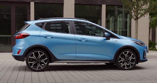 Ford Fiesta 2022.