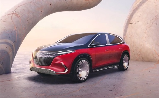 Mercedes-Maybach EQS 2023.
