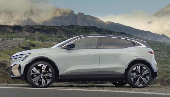 Renault Megane E-Tech Electric 2022.